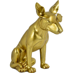 OTIS - Gold Doberman Statue