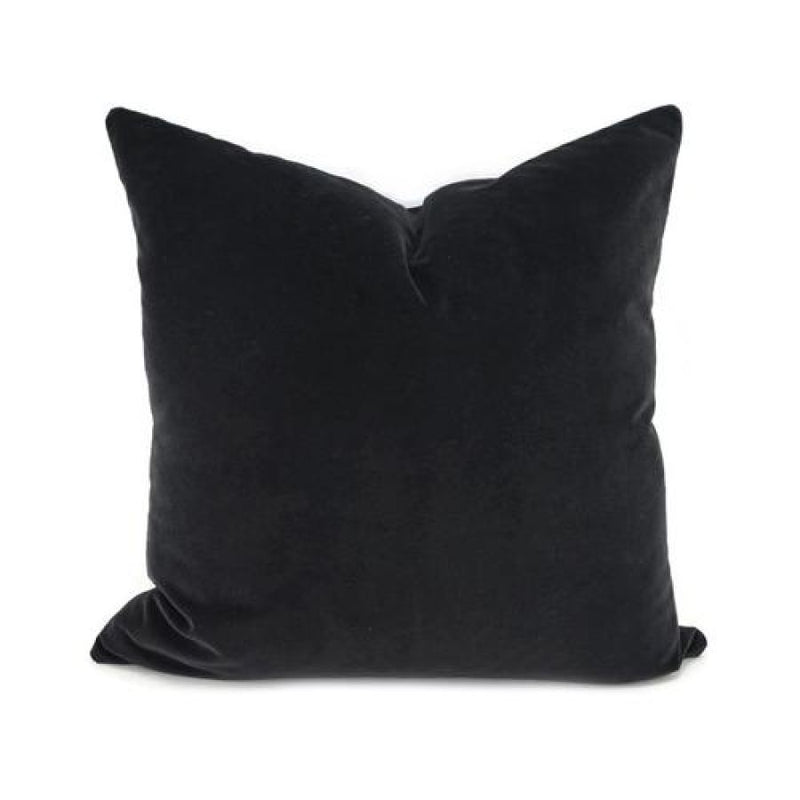 Black & Greys Velvet Cushion Covers - 45X45Cm / - Accessories