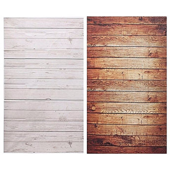 Brown Or White Photographic Wood Backdrops - - Wall Accents