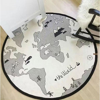 Cotton Baby Play Mat: The Ultimate Soft Landing! (12 Variants) - Map1 / 90-140Cm - Homewares