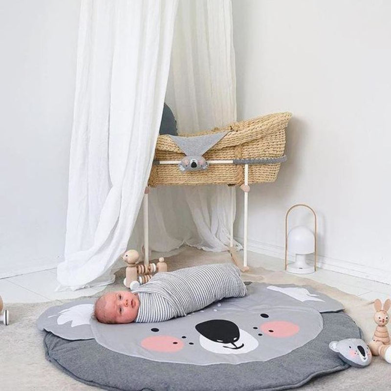 Cotton Baby Play Mat - The Ultimate Soft Landing! (2 Variants) - Koala / 90-140Cm - Accessories