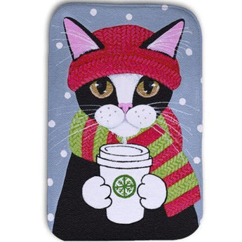 Humoristic Cat Floor Mats (Several Variants) - 9 / 400Mm X 600Mm - Homewares