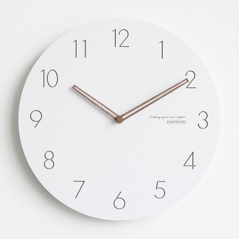 Modern Wall Clocks (Chose From 7 Models & 2 Sizes) - A / 12Inch - Accessories