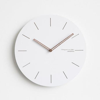 Modern Wall Clocks (Chose From 7 Models & 2 Sizes) - C / 12Inch - Accessories