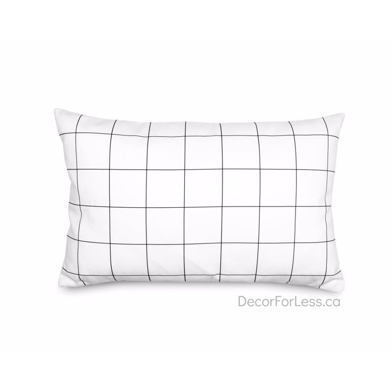 Olli+Lime - Grid Pillow - - Accessories