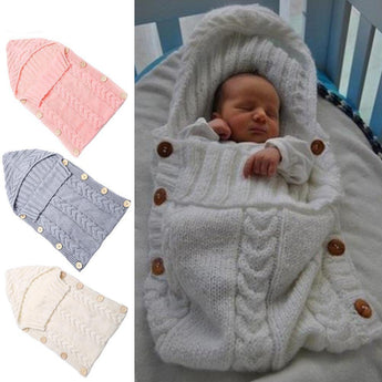 Newborn Knitted Blankets (Color Variants)