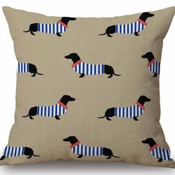 Teckel Decorative Cushion Covers