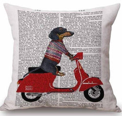 Jolly Doggies Decorative Cushion Covers