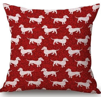 Jolly Teckel Decorative Cushion Covers