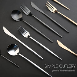 Stainless Steel 4 piece Tableware Set (Variants)