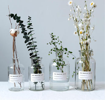 Minimalist Glass Storage Jars / Vases (Variants)