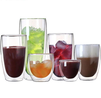 Double Wall Glass Cup / Mug