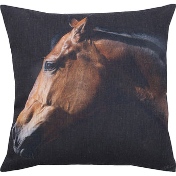WALKER Horse Decorative pillow (Duck Feathers Insert)