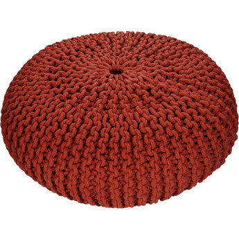 Renwil Amina Knit Pouf - - Accent Furniture