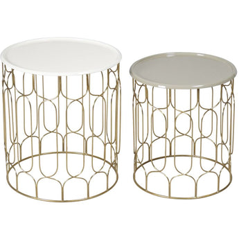 Renwil Britt - Set Of 2 Accent Tables - - Furniture