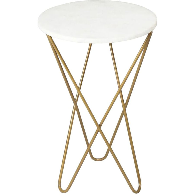 Renwil Cinda Marble Accent Table - - Furniture