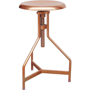 Renwil Colter - Copper Stool - - Accent Furniture