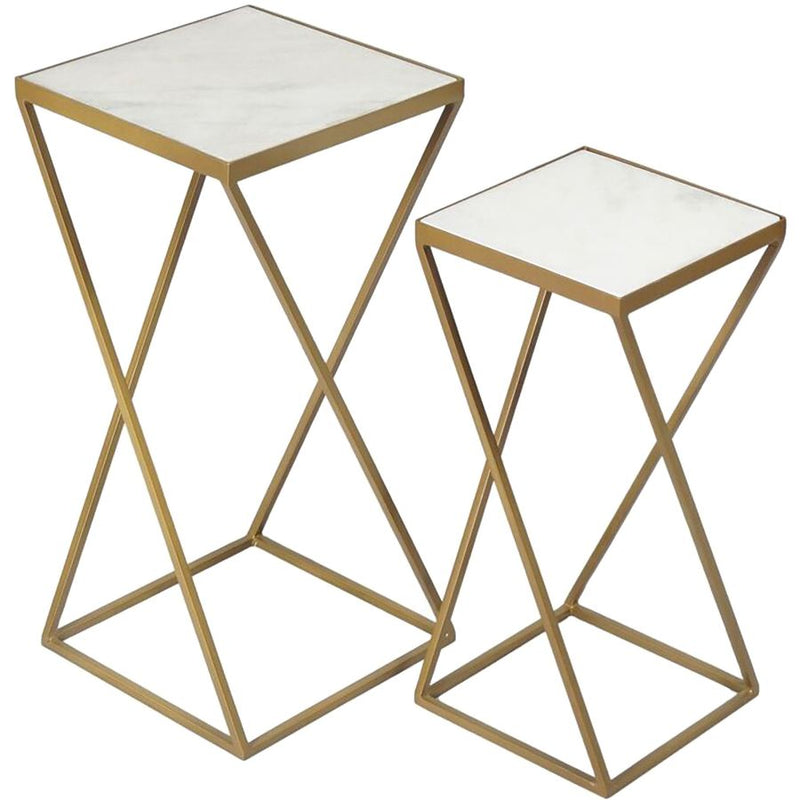 Renwil Darby - Set Of 2 Side Tables - - Accent Furniture