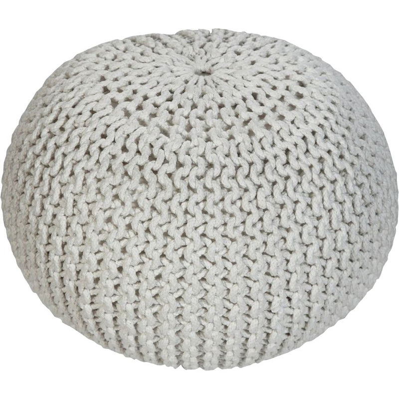Renwil Finley Knit Pouf - - Accent Furniture