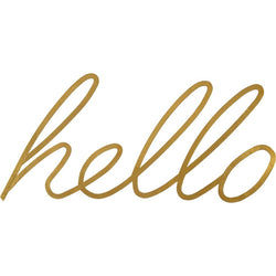 Renwil Hello - - Wall Accents