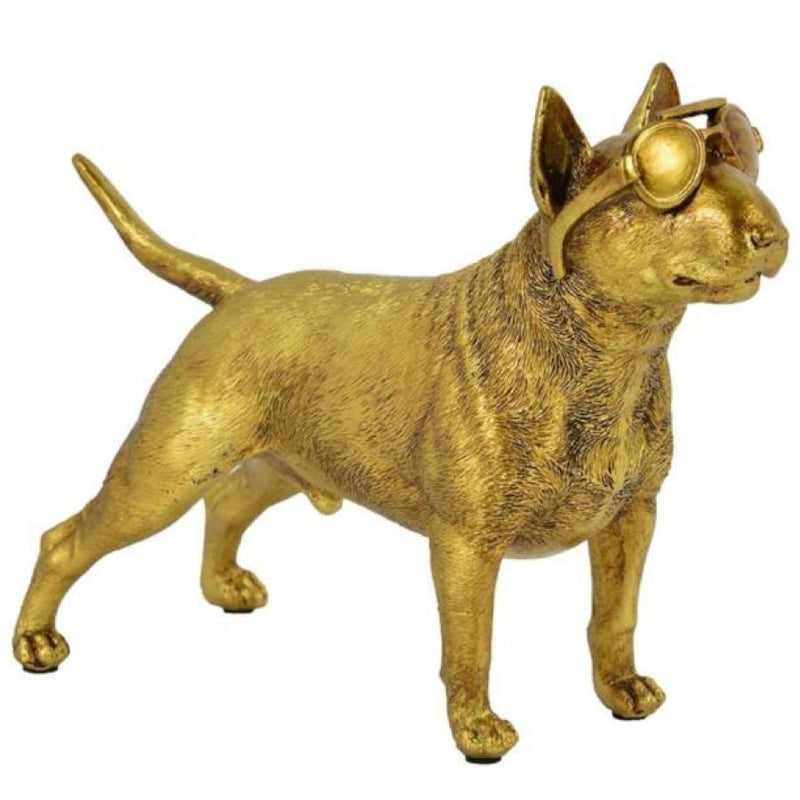 Renwil Scout - Statue - Golden Finish - - Accessories