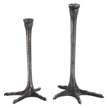 Renwil Thornby - Metal Candle Holders - Set Of 2 - - Accessories