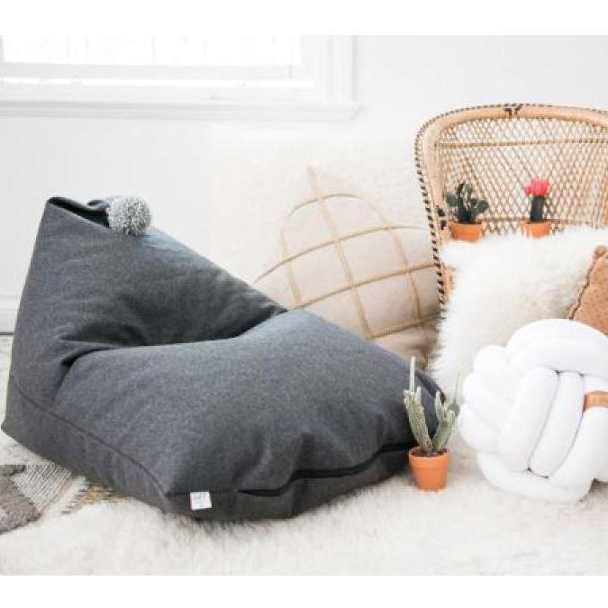 Sterling - Childrens Bean Bag Chair - Wild Design Lab - - Accessories
