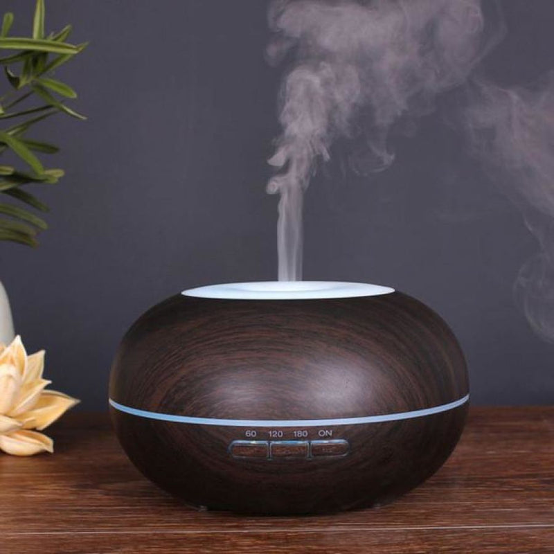 Ultra Quiet Air Humidifier - Oil Diffuser - Chocolate / China - Homewares