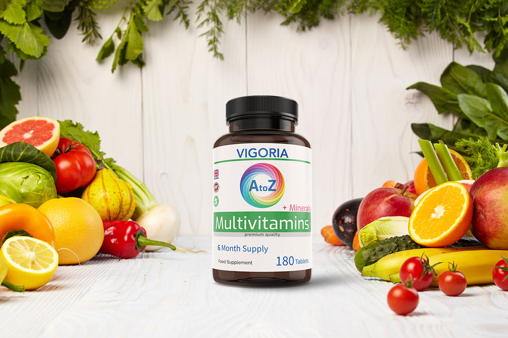 multivitamins multimineral vitamins vigoria supplements