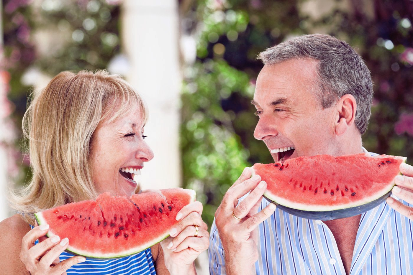vigoria vitamins supplements couple watermelons