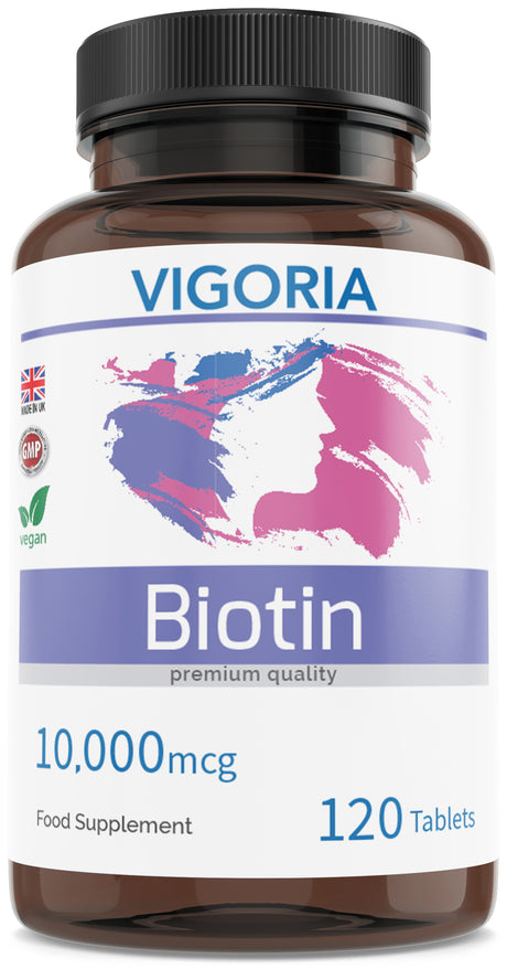 vigoria biotin hair nails skin vitamin b7 b8