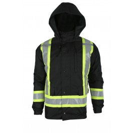 7in1 Winter Jacket (Black)