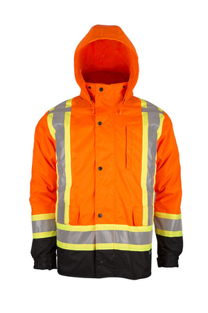 7in1 Winter Jacket (Orange)