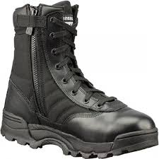 "Men's boots - Classic 9"" side-zip by Original S.W.A.T. - cfmuniforms.com/store"