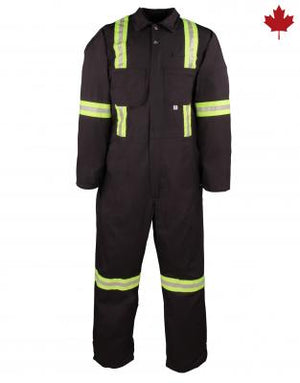 COVERALL WITH REFLECTIVE MATERIAL