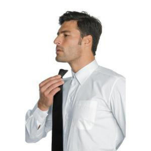 Cravate clip-on homme