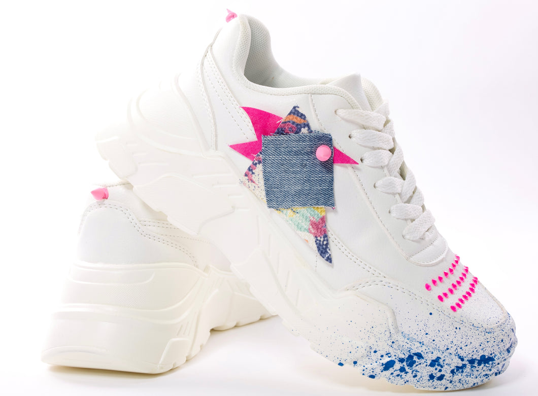 Denim swarovski Sneakers