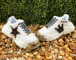 Stars Gold sneakers