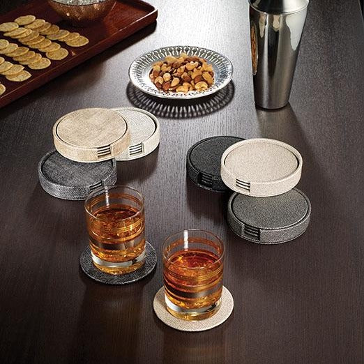 Luster Boxed Coaster Sets