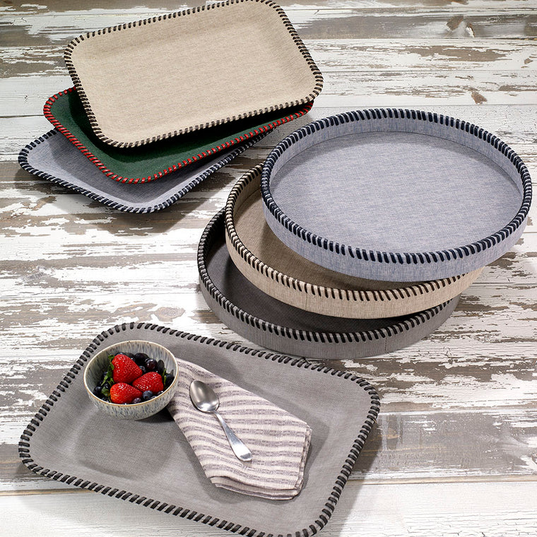 Whipstitch Trays