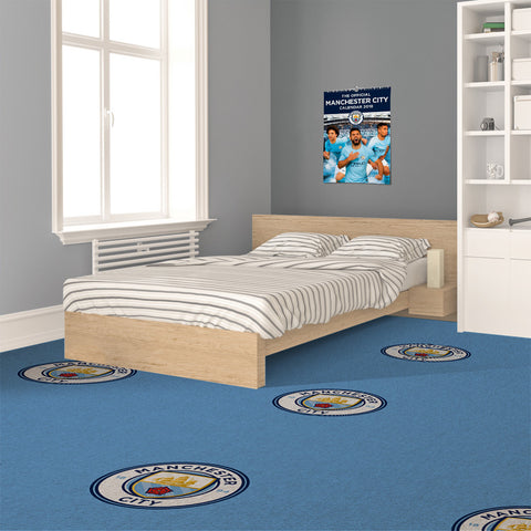 Manchester City Carpet