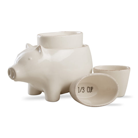 Farmhouse Pig Measuring Cups