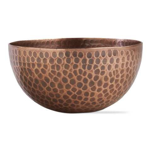 Hammered Copper Serving Bowl ~ 16 oz ~ RedRiverIron.com