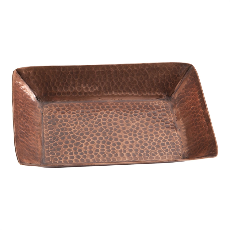 Hammered Copper Tray ~ RedRiverIron.com