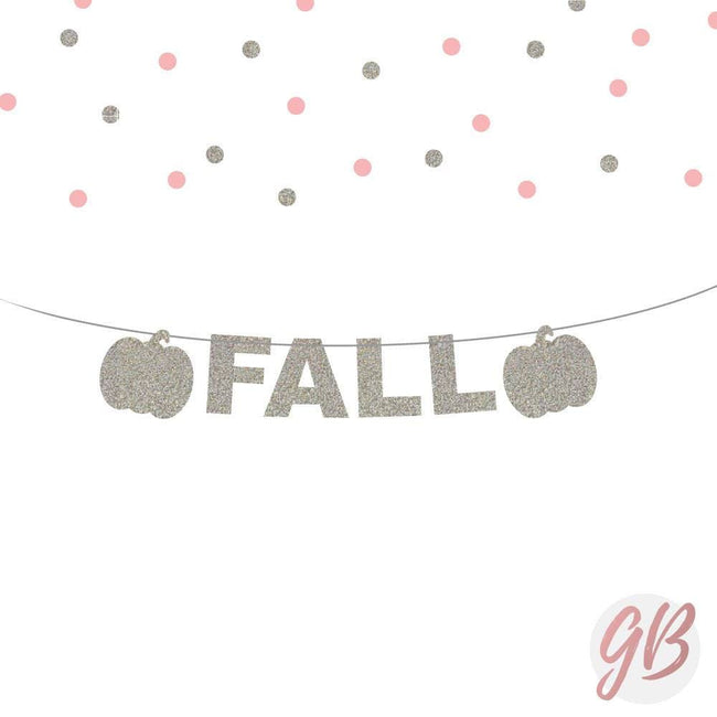 Fall decor banner