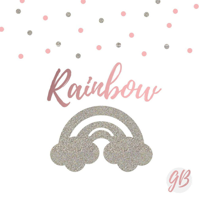 Custom name rainbow banner