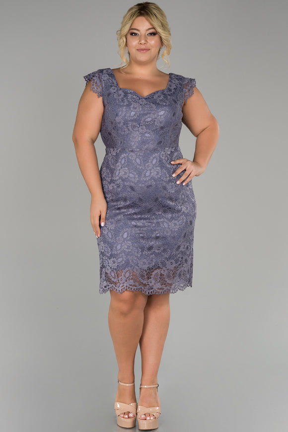 18164 Lavender Lace Dress