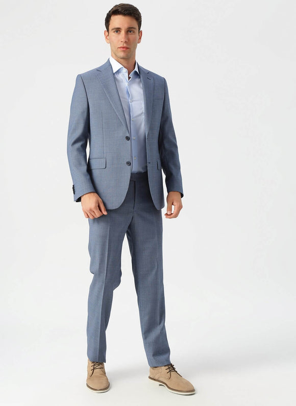 14532 Blue Classic Suit For Men Men's Suit South Africa