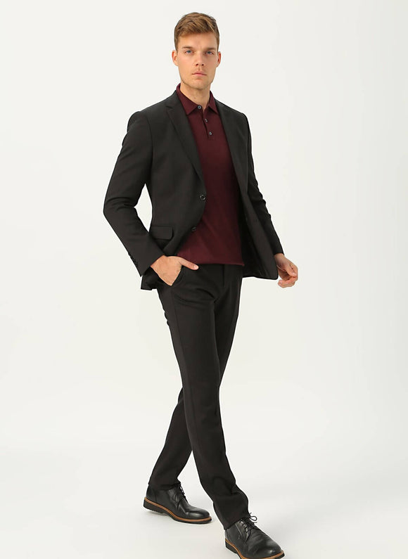 14540 Black Classic Suit For Men Men's Suit South Africa