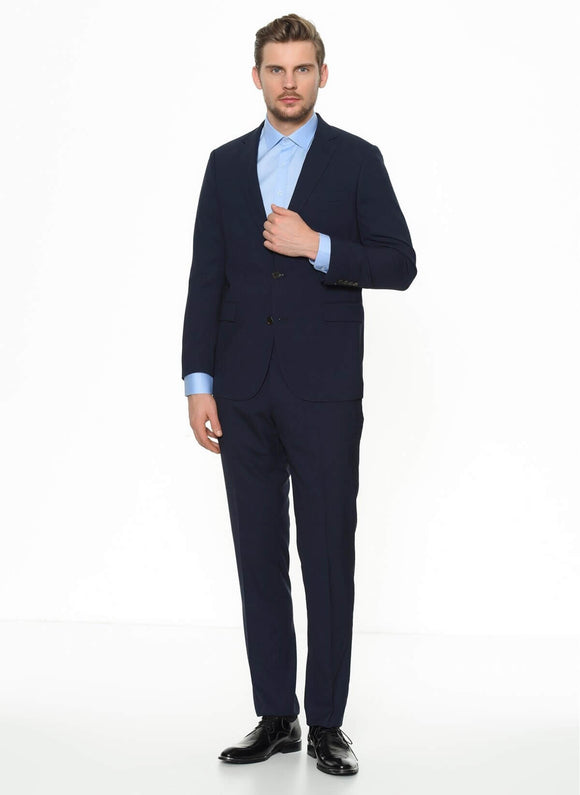 14546 Navy Blue Classic Suit For Men Men's Suit South Africa